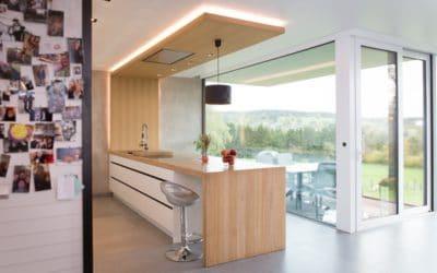 Création d'une cuisine sur mesure pour une habitation à Malmedy
