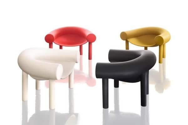 Chaises design de la marque Magis