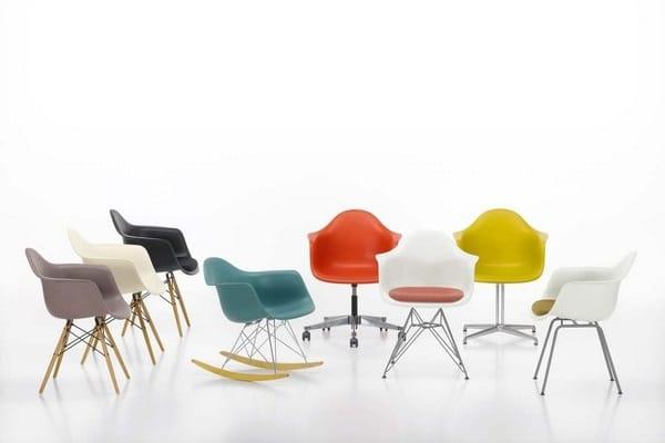 Gamme de chaises et fauteuils Vitra