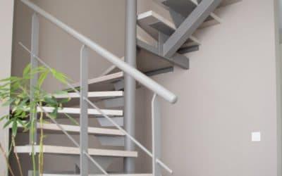 Création d'un escalier sur mesure dans une nouvelle construction