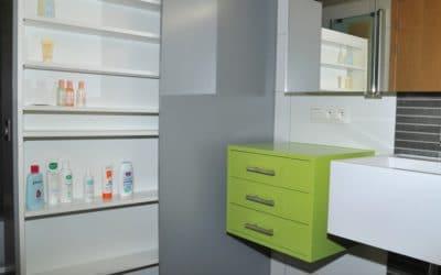 Réalisation de meubles de salle de bains sur mesure
