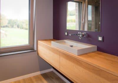 Cr ation de meubles de salle de bains sur mesure alain rosen sprl - Meuble de salle de bain sur mesure ...