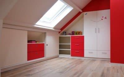 Création de meubles sur mesure pour des chambres d'enfants