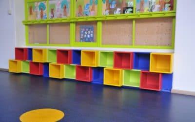 Création de mobilier sur mesure pour l'école du Centre, école maternelle de Malmedy