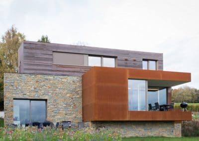 Nouvelle construction Alain Rosen (Malmedy - Liège)