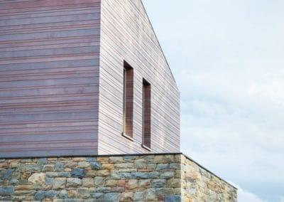 Nouvelle construction - Bardage en cèdre (Alain Rosen)