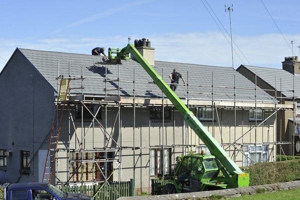 Isolation de toitures à Malmedy (Verviers)