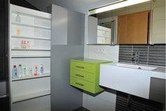 Meuble de salle de bain sur mesure en province de Liège et de Luxembourg