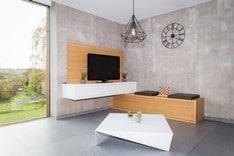 Meuble de salon sur mesure à Malmedy (Alain Rosen)