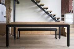 Fusiontables: table en bois