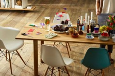 Table et chaises Vitra (Alain Rosen: revendeur à Malmedy)