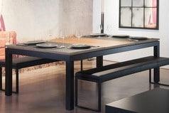 Fusiontables: tables transformable en billard