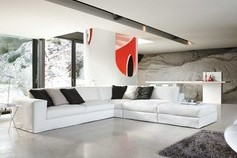 Musa Italia : divan blanc