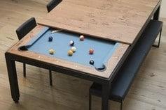 Table transformable en billard Fusiontables