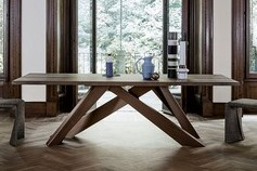 Table et chaises de la marque Bonaldo