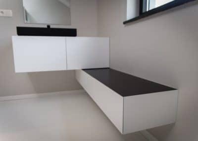 Création de mobilier sur mesure pour salle de bains