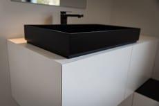 Meuble de salle de bains sur mesure - Alain Rosen