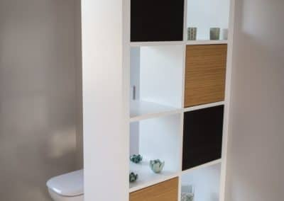 Mobilier de salle de bains à Spa (Alain Rosen)