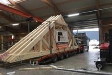 Pose et réalisation de toiture à Malmedy - Alain Rosen
