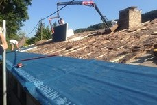 Rénovation de toiture à Liège (Malmedy)