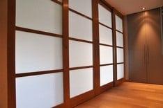 Porte vitrée pour bureaux