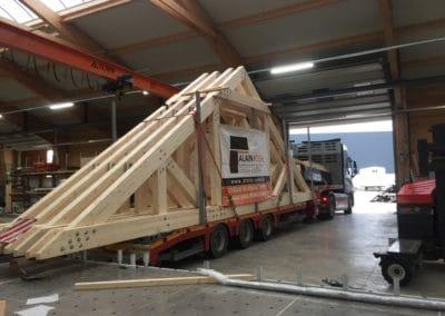 Charpente bois rénovation toiture