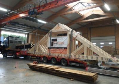 Charpente rénovation toiture