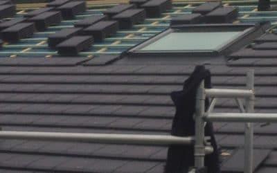 Rénovation et isolation complète d'une toiture à Trèves (Allemagne)