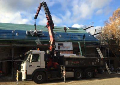 Rénovation de toiture incendie Malmedy