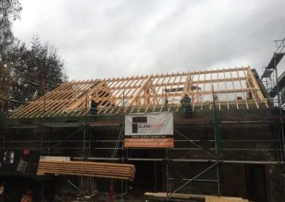 Rénovation toiture incendie