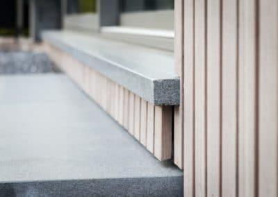 Annexe en bois vertical