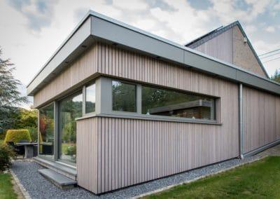 Annexe moderne maison