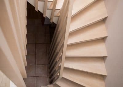 Menuiserie intérieure escalier Spa