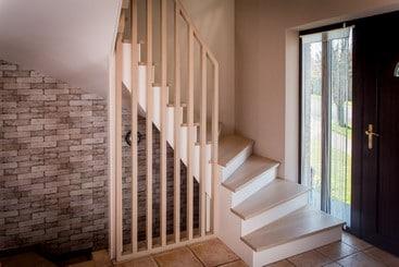 Réalisation d'escalier en chêne