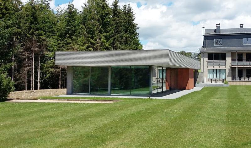 Nouvelle réalisation d'un pool house