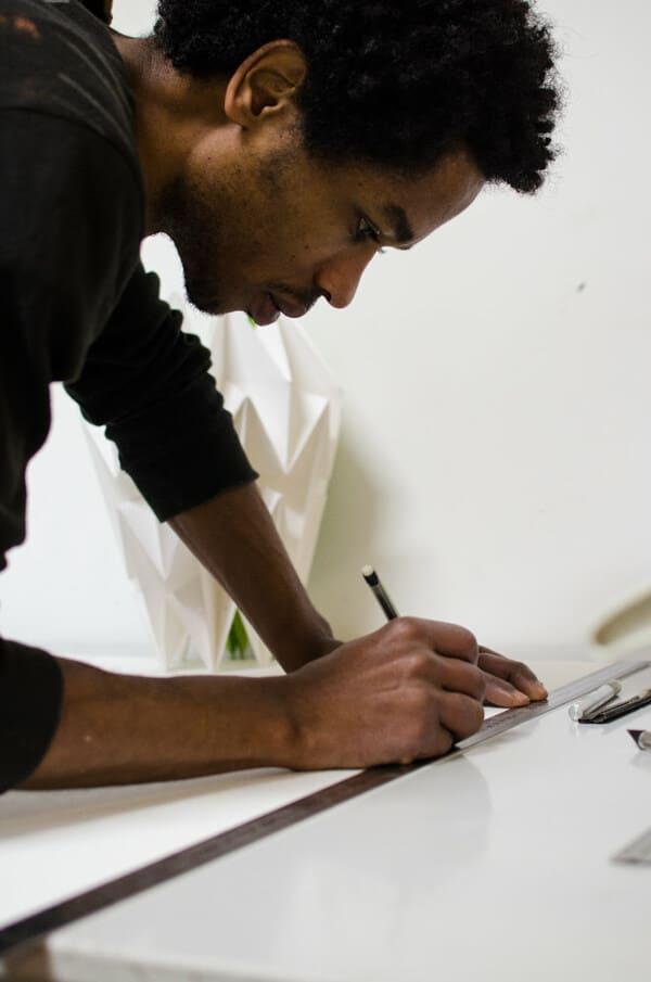 Ben Artside, créateur de lampes et objets de décoration