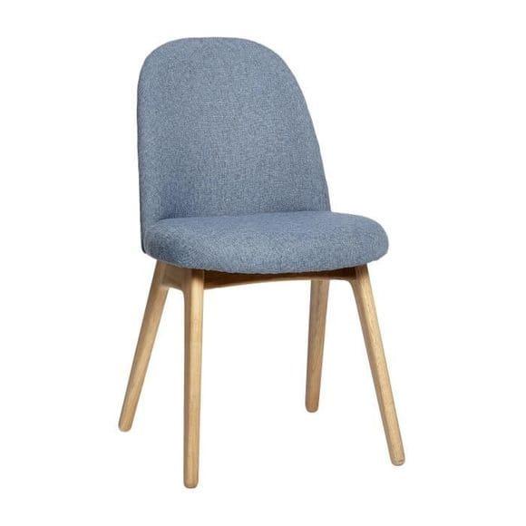 Chaise bleue de la marque Hübsch