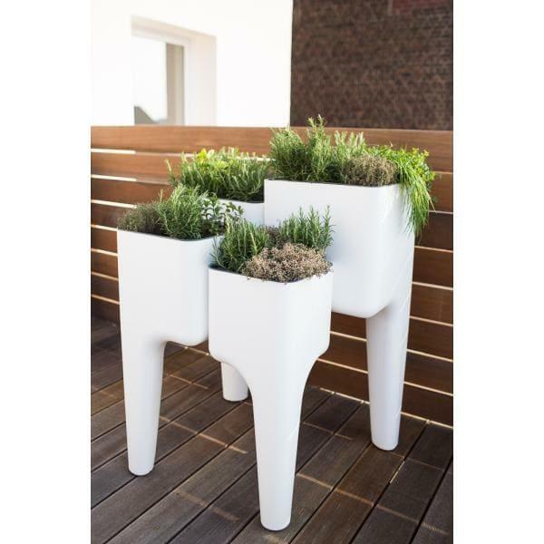 Table potagère blanche de la marque Hurbz