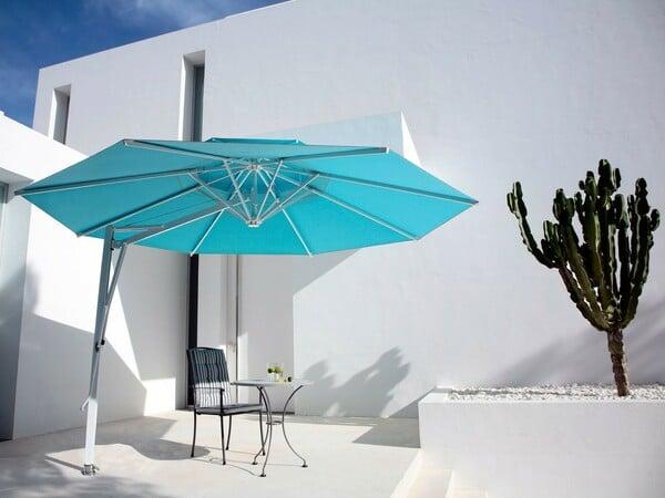 Parasol bleu de la marque Caravita