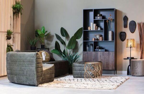 Salon avec mobilier De Eekhoorn