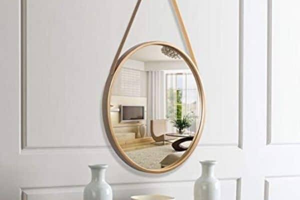 Miroir mural doré - Umbra