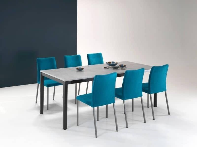 Chaises bleues - Unic Design