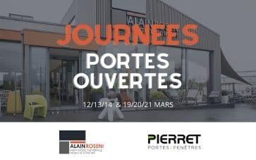 Portes ouvertes chez Alain Rosen en collaboration avec Pierret